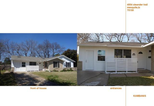4004 Oleander Trail, Mesquite, TX 75150 (MLS #14046266) :: Magnolia Realty