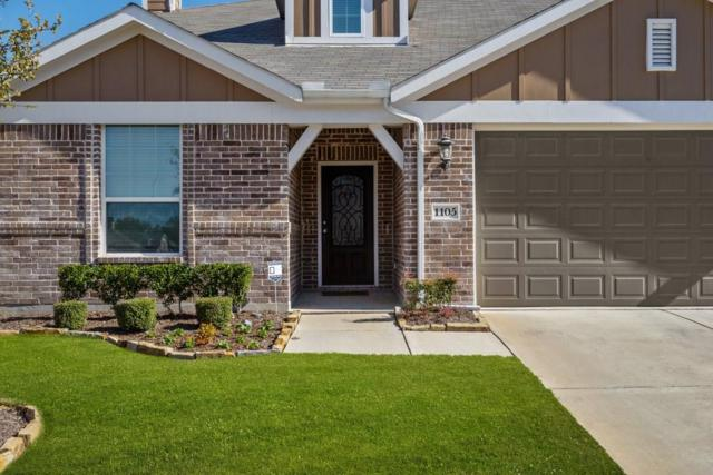 1105 Freesia Drive, Little Elm, TX 75068 (MLS #14052998) :: The Heyl Group at Keller Williams