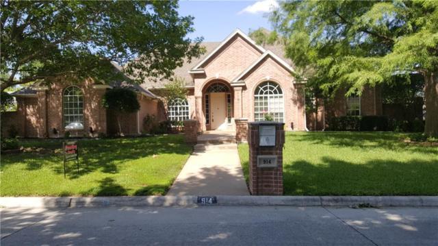 914 Hilton Drive, Mansfield, TX 76063 (MLS #14053678) :: The Tierny Jordan Network