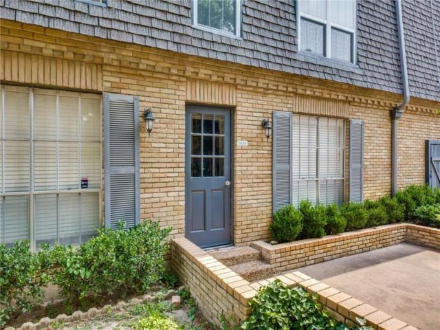 5033 Cedar Springs Road #104, Dallas, TX 75235 (MLS #14058163) :: Van Poole Properties Group