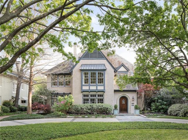 3325 Beverly Drive, Highland Park, TX 75205 (MLS #14072047) :: Frankie Arthur Real Estate