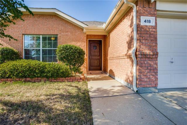 418 Mustang Trail, Celina, TX 75009 (MLS #14076722) :: Kimberly Davis & Associates