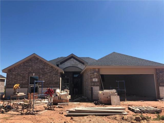 249 Martis Way, Abilene, TX 70602 (MLS #14077249) :: Ann Carr Real Estate