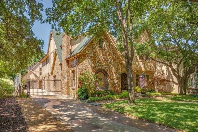 4536 Livingston Avenue, Highland Park, TX 75205 (MLS #14084214) :: The Hornburg Real Estate Group