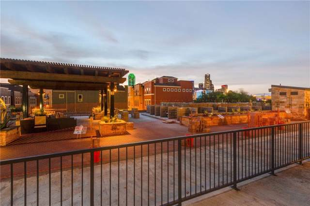 1001 Belleview Street #206, Dallas, TX 75215 (MLS #14089641) :: Front Real Estate Co.