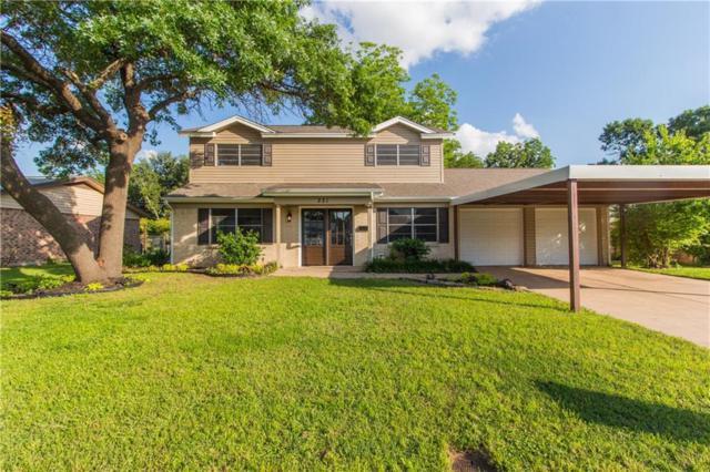 221 Appaloosa Drive, Saginaw, TX 76179 (MLS #14091868) :: Baldree Home Team