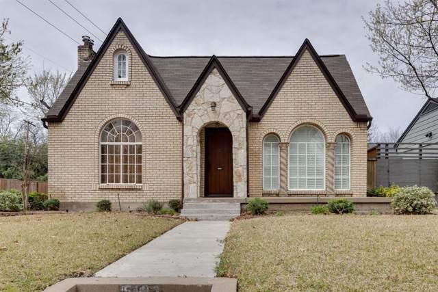 5103 Alcott Street, Dallas, TX 75206 (MLS #14093284) :: Robbins Real Estate Group