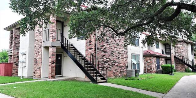 1017 Turtle Lake Boulevard #118, Irving, TX 75060 (MLS #14096331) :: RE/MAX Pinnacle Group REALTORS
