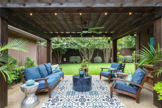 6123 Sandydale Drive, Dallas, TX 75248 (MLS #14103367) :: The Mitchell Group
