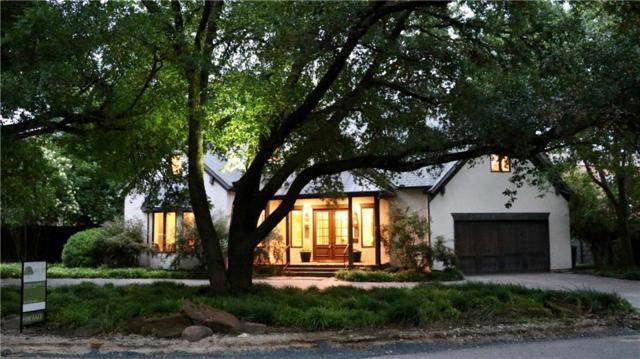 4321 N Cresthaven Road, Dallas, TX 75209 (MLS #14104126) :: The Heyl Group at Keller Williams