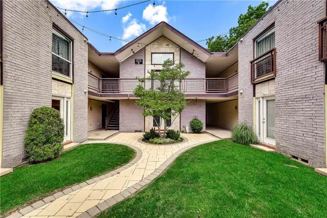 2722 Knight Street 101A, Dallas, TX 75219 (MLS #14111845) :: Lynn Wilson with Keller Williams DFW/Southlake