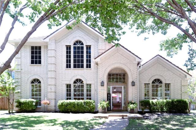 4209 Trailridge Drive, Frisco, TX 75035 (MLS #14116600) :: Kimberly Davis & Associates