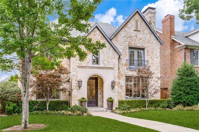 2728 Purdue Avenue, University Park, TX 75225 (MLS #14122932) :: Robbins Real Estate Group