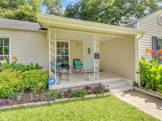 3724 El Campo Avenue, Fort Worth, TX 76107 (MLS #14125385) :: The Mitchell Group