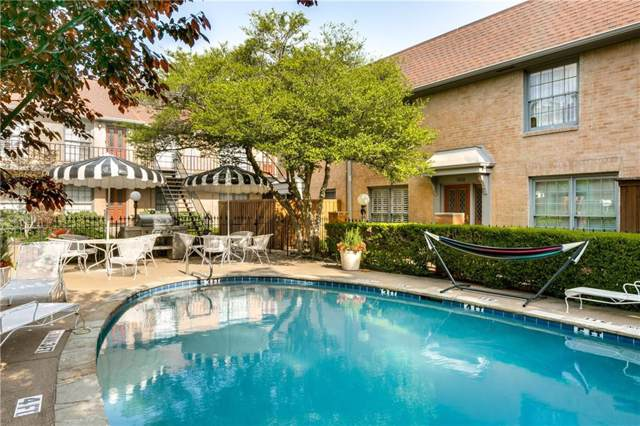 7822 Meadow Park Drive #111, Dallas, TX 75230 (MLS #14128363) :: The Hornburg Real Estate Group
