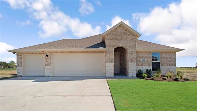 448 Bonham Drive, Forney, TX 75126 (MLS #14129958) :: RE/MAX Landmark