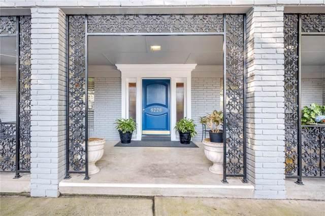 6226 Bandera Avenue C, Dallas, TX 75225 (MLS #14130261) :: The Hornburg Real Estate Group