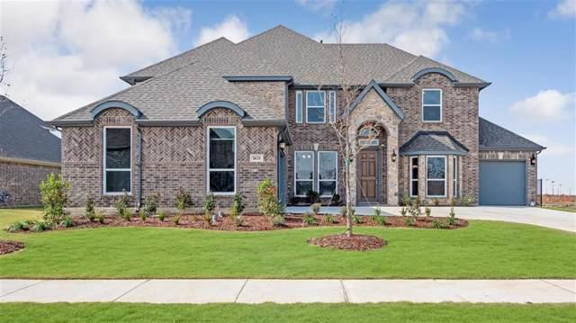 1621 Middleton Lane, Prosper, TX 75078 (MLS #14132417) :: Real Estate By Design