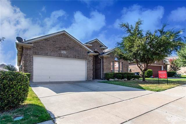 5832 Barrier Reef Drive, Fort Worth, TX 76179 (MLS #14133533) :: Hargrove Realty Group