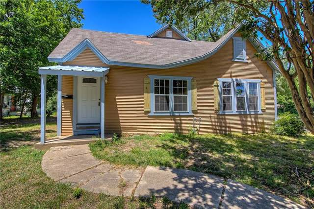 1400 Sycamore Street, Commerce, TX 75428 (MLS #14136977) :: RE/MAX Town & Country