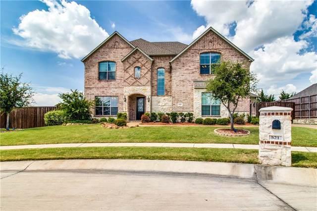 521 Logans Way Drive, Prosper, TX 75078 (MLS #14139022) :: RE/MAX Town & Country