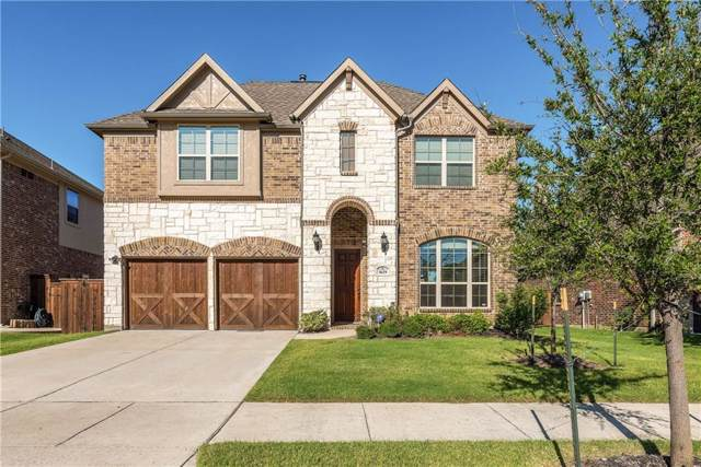 5629 Lightfoot Lane, Frisco, TX 75036 (MLS #14139374) :: The Real Estate Station