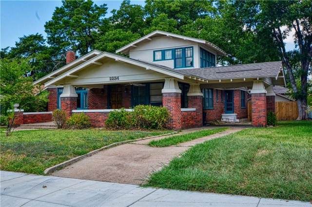 2234 Harrison Avenue, Fort Worth, TX 76110 (MLS #14144873) :: The Real Estate Station