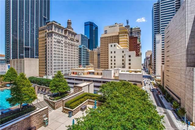 1200 Main Street #813, Dallas, TX 75202 (MLS #14145093) :: The Hornburg Real Estate Group