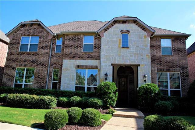 2120 Magic Mantle Drive, Lewisville, TX 75056 (MLS #14145878) :: NewHomePrograms.com LLC