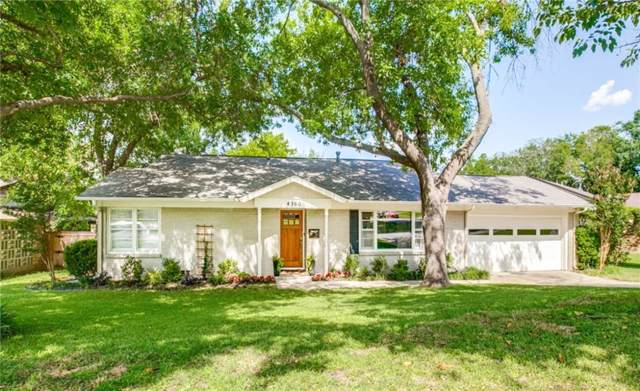 4500 Angus Drive, Fort Worth, TX 76116 (MLS #14146569) :: Real Estate By Design