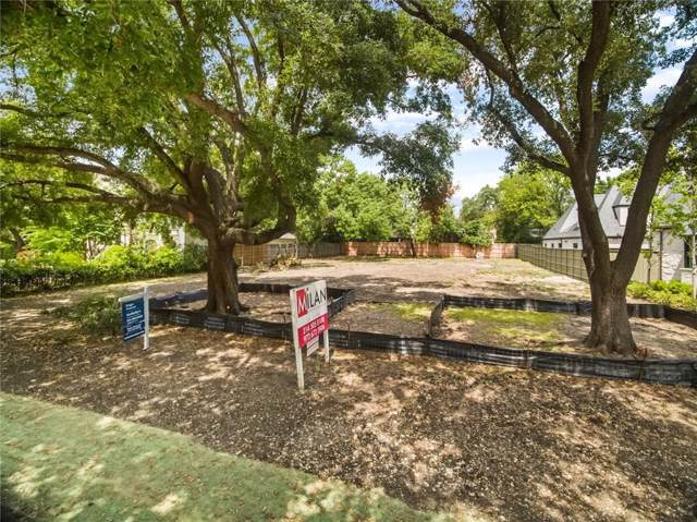 5915 Park Lane, Dallas, TX 75225 (MLS #14148775) :: Robbins Real Estate Group