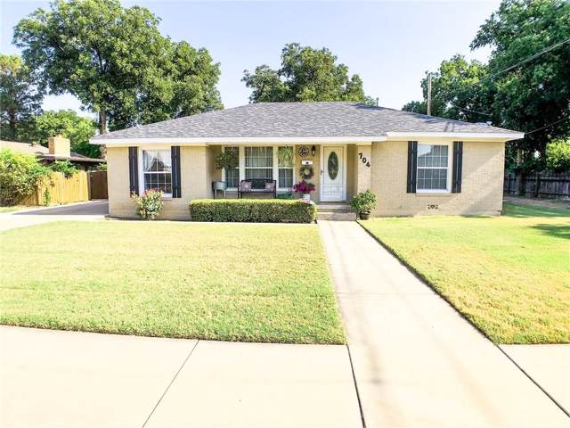 704 N 4th Street, Haskell, TX 79521 (MLS #14157586) :: RE/MAX Town & Country