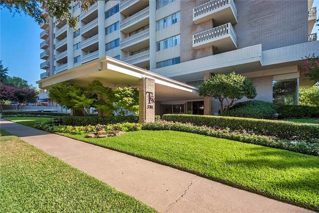 3701 Turtle Creek Boulevard 4H, Dallas, TX 75219 (MLS #14161906) :: The Hornburg Real Estate Group