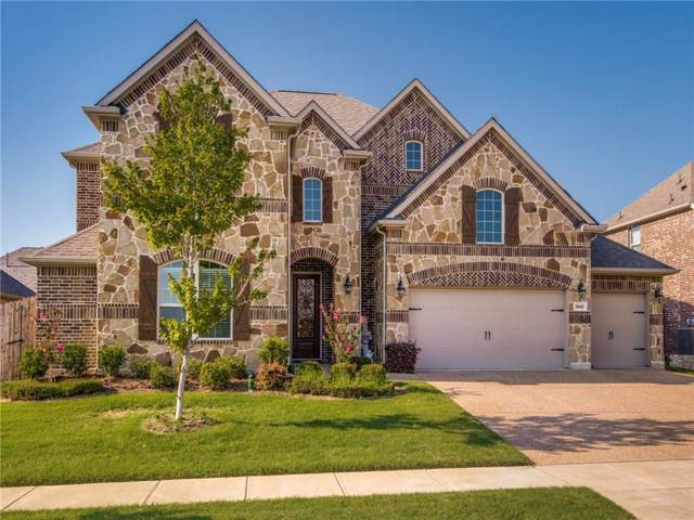 9947 Corinth Lane, Frisco, TX 75035 (MLS #14162437) :: All Cities Realty