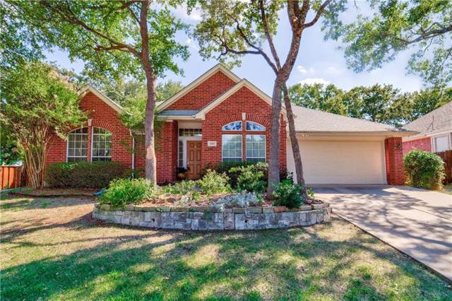 4107 Remington Park Court, Flower Mound, TX 75028 (MLS #14171584) :: Real Estate By Design