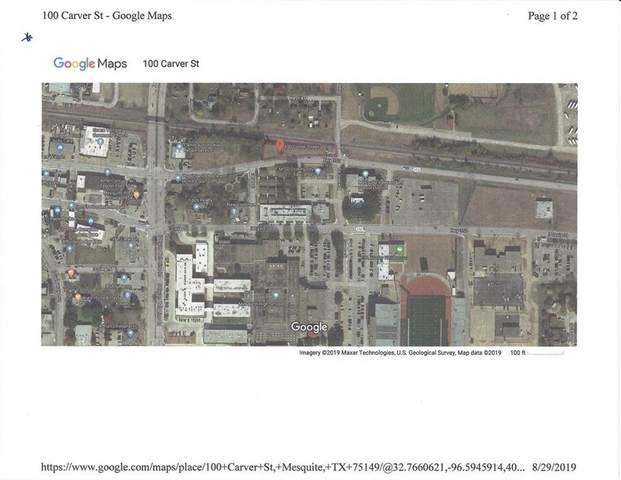 100 Carver Street, Mesquite, TX 75149 (MLS #14173448) :: The Heyl Group at Keller Williams