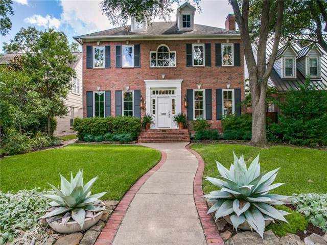 3215 Amherst Avenue, University Park, TX 75225 (MLS #14180759) :: The Heyl Group at Keller Williams