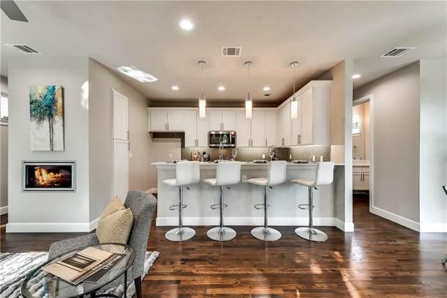 2016 N Fitzhugh Avenue #104, Dallas, TX 75204 (MLS #14183403) :: The Hornburg Real Estate Group