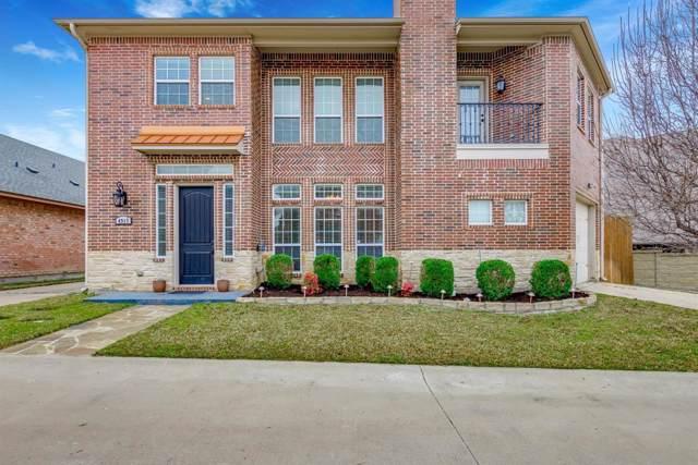 4917 Ridglea Hills Court, Fort Worth, TX 76116 (MLS #14196608) :: The Tierny Jordan Network
