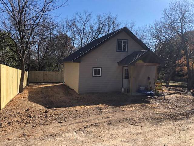 209 Anderson, Hico, TX 76457 (MLS #14217969) :: Dwell Residential Realty