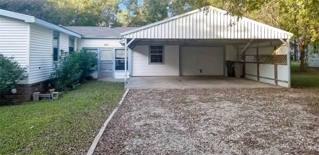 233 Oak Trail Drive, Gordonville, TX 76245 (MLS #14220609) :: Post Oak Realty