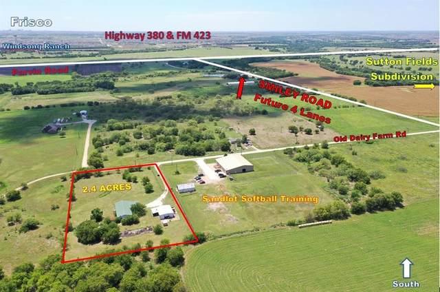 15841 Old Dairy Farm Road, Prosper, TX 75078 (MLS #14234548) :: The Good Home Team