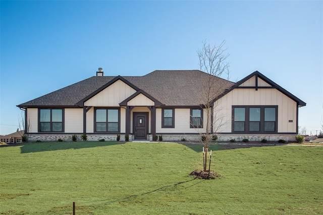2020 Pebblegate Drive, Weatherford, TX 76085 (MLS #14250623) :: Post Oak Realty