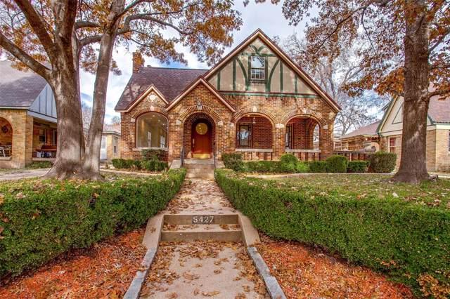 5427 Mercedes Avenue, Dallas, TX 75206 (MLS #14251199) :: Robbins Real Estate Group