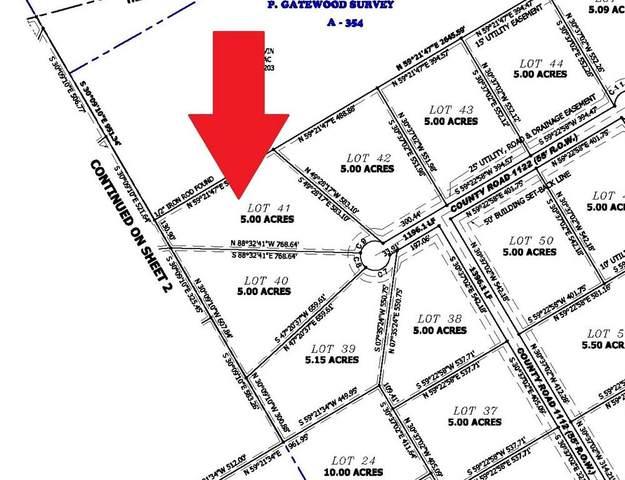 0 Hcr 1122, Blum, TX 76627 (MLS #14256872) :: The Hornburg Real Estate Group