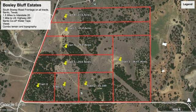 Tract 7 S Bosley Road, Santo, TX 76472 (MLS #14285159) :: Bray Real Estate Group
