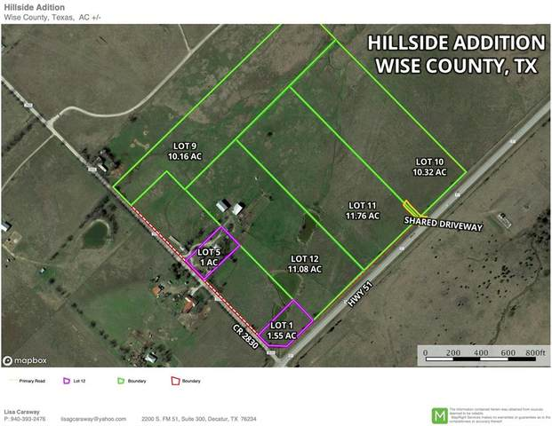Lot 10 County Road 2830, Slidell, TX 76234 (MLS #14286653) :: NewHomePrograms.com LLC