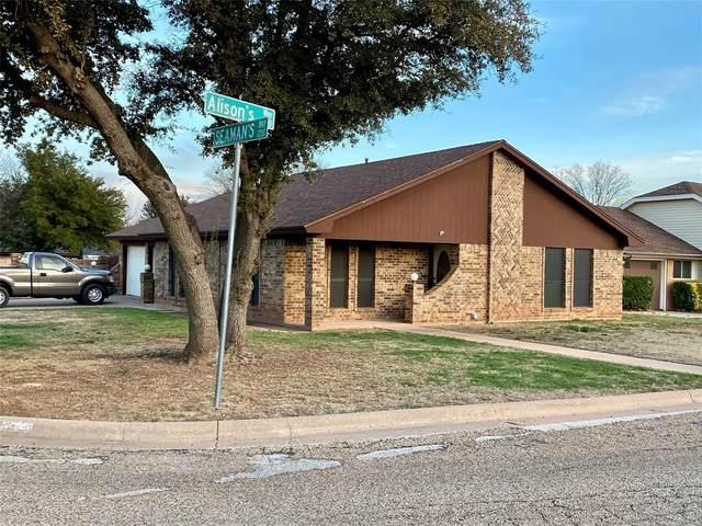 701 Alisons Way, Abilene, TX 79602 (MLS #14287069) :: RE/MAX Pinnacle Group REALTORS