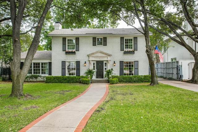 2911 Southwestern Boulevard, University Park, TX 75225 (MLS #14339790) :: Robbins Real Estate Group
