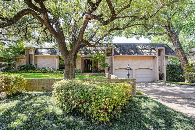 6218 Willow Lane, Dallas, TX 75230 (MLS #14343007) :: The Hornburg Real Estate Group